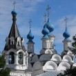 Russian traditonal medieval monastery - Stock Photo