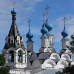 Russian traditonal medieval monastery — Stock Photo #1207455