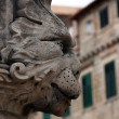 Street statue gargoyle - Stock Photo