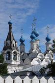 Ruská tradičními středověký klášter — Stock fotografie