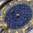 Astronomical clock in Venice, Italy - Stock Photo