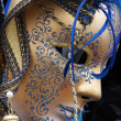 Traditional colorful Venice mask — Stock Photo #1215465