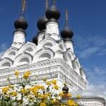 Russian traditonal medieval monastery — Stock Photo #1215482