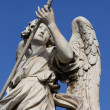Bernini angel sculpture in Rome - Stock Photo