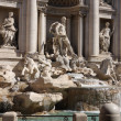 Trevi fountain in Rome,Italy — Stock Photo