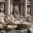 Trevi fountain in Rome,Italy — Stock Photo #1217439