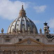 Royalty-Free Stock Photo: St.Peters cathedral in Vatican