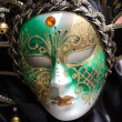 Traditional colorful Venice mask — ストック写真