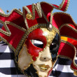 Traditional colorful Venice mask — Stock Photo #1219789