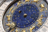 Astronomical clock in Venice, Italy — Stock Photo