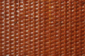 Wooden basket lacquered texture — Stock Photo