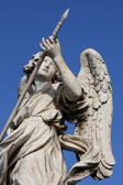 Bernini angel sculpture in Rome — Stock Photo
