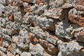 Rough old bricks — Stock Photo