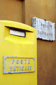 Letter-box of Vatican post — Stock Photo
