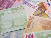 European banknotes — Stock Photo