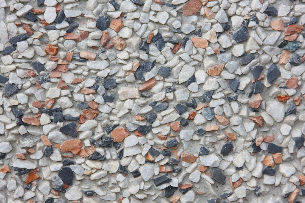 Abstract rough stone pebble texture  Stock Photo #1215701