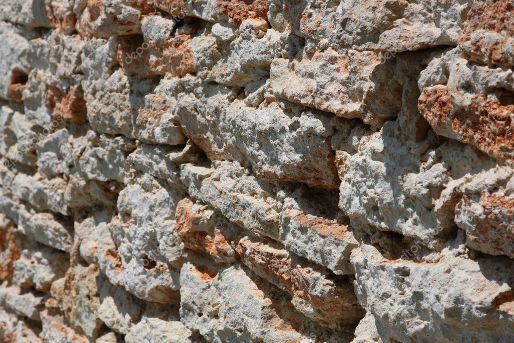 Abstract rough old stone wall bricks — Stock Photo #1219263