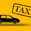 Royalty-Free Stock Immagine Vettoriale: Taxi car illustration
