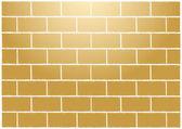 Abstract tan bricks wall illustration — Stock Vector