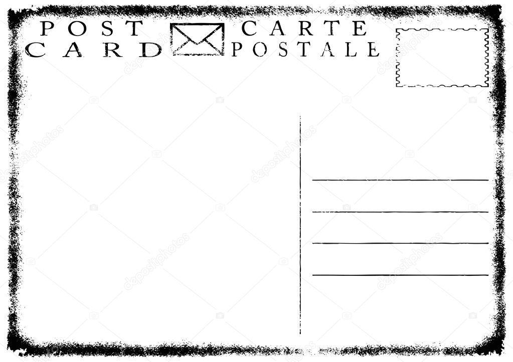 Бланк открытки пустой 53