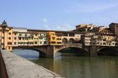 Medieval bridge Ponte Vecchio — Stock Photo