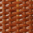 Wooden basket lacquered texture — Stock Photo #1234027