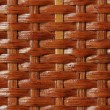 Wooden basket lacquered texture - Foto Stock