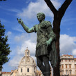 Emperor August sculpture in Rome,Italy - Stockfoto