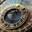 Astronomical clock in Prague — Stock Photo