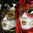 Traditional colorful Venice mask — Stock Photo #1239917