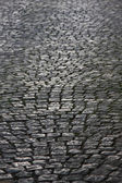 Old cobble road — Stock Photo