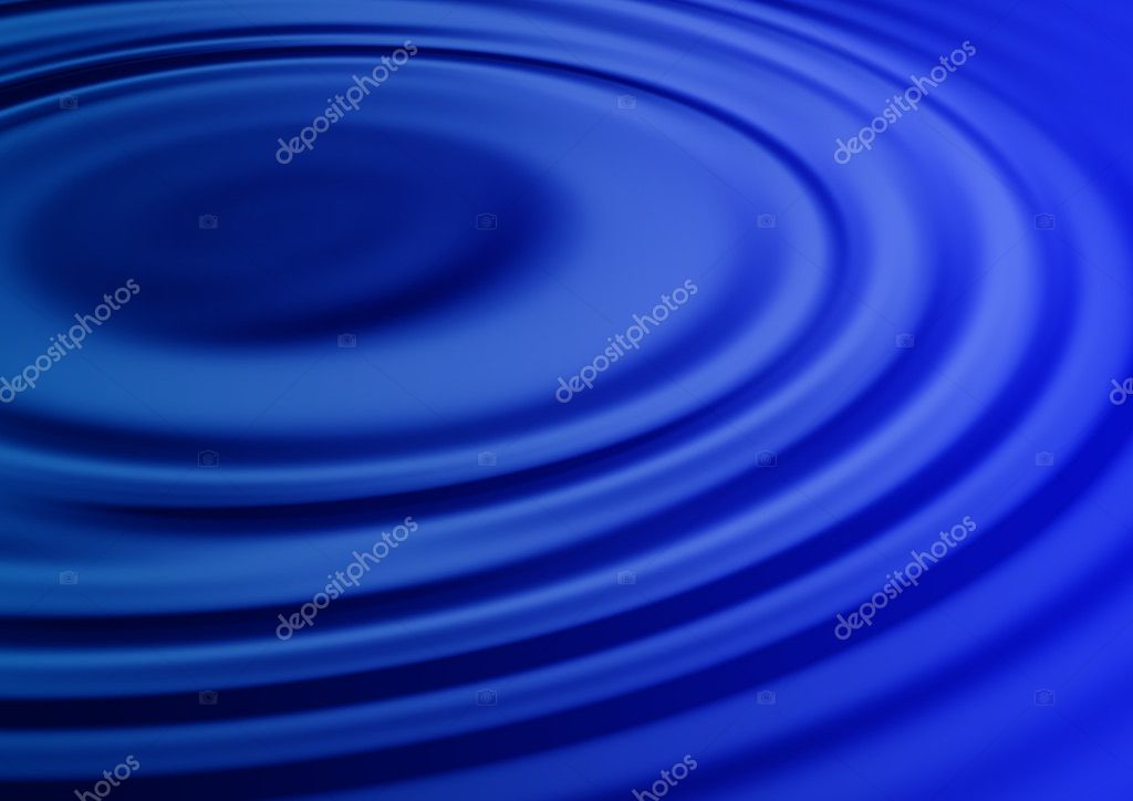 Abstract water ripple background illustration  Stock Photo #1235271