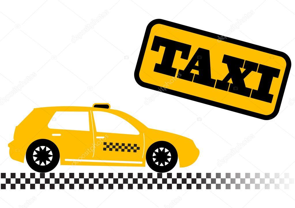 Handisport - Championnat Tir à l'arc Paris dans HANDISPORT - TIR A L'ARC depositphotos_1236906-Taxi-car-illustration