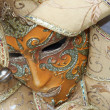 Traditional colorful Venice mask — Stock Photo #1240015
