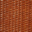 Wooden basket lacquered texture - Stock Photo