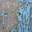 Cracked paint background texture — Stock Photo