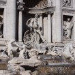 Trevi fountain in Rome,Italy — Stock Photo #1242041