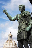 Emperor August sculpture in Rome,Italy — Stock Photo