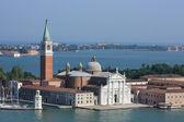 San Giorgio Maggiore cathedral in Venice — Stock Photo
