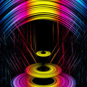 Abstract iridescent background — Stock Photo