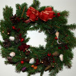 Christmas wreath — Stock Photo #1373503