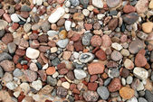 Sea pebbles texture — Stock Photo