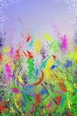 Bright and colourful backgraund — Stock Photo