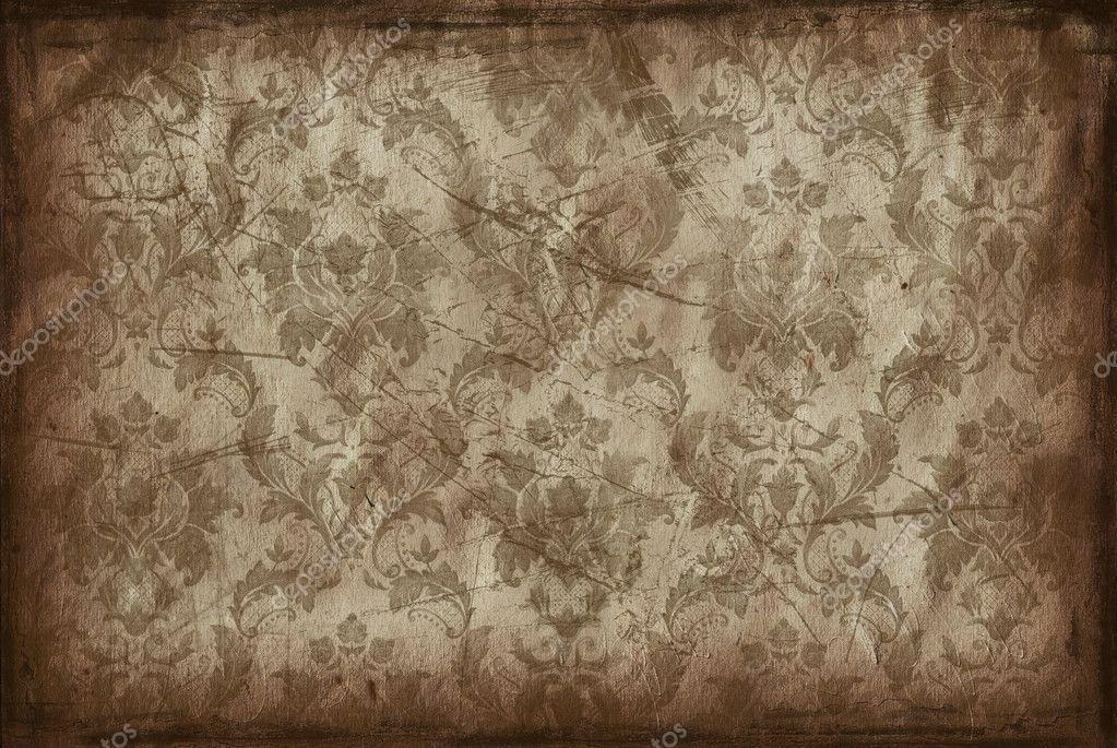 vintage hintergrund aus alten tapeten stockfoto. Black Bedroom Furniture Sets. Home Design Ideas