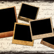 Polaroid frames — Stock Photo