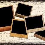 Polaroid frames — Stock Photo