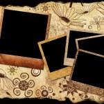 Palaroid frames — Stock Photo