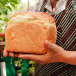 Foto Stock: Newly-baked bread