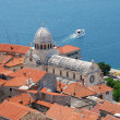 Stock Photo: CATHEDRAL OF ST JAMES , SIBENIK CROATIA.