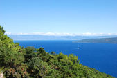 Adriatic sea bay — Stock Photo